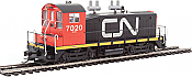 WalthersProto 41434 HO EMD SW1200 - ESU LokSound DCC - Canadian National CN #7020