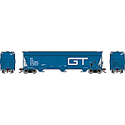 Athearn Genesis G15845 - HO ACF 4600 3-Bay Centerflow Hopper - Grand Trunk #138129