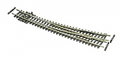Peco Streamline SL-E387F - N Gauge Curved Turnout Left Hand - Code 55 Electrofrog