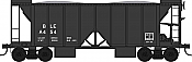 Bowser 42785 - HO RTR 70 Ton 2-Ballast Hopper with Side Chutes - Bessemer & Lake Erie #A462