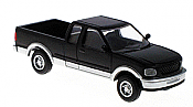 Atlas HO 1250 1997 Ford F-150 Pickup Truck - Black/Silver