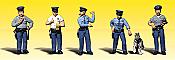 Woodland Scenics 2122 - N Scenic Accent Figures - Policemen (6/pkg)