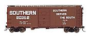 Intermountain 45814-24 HO Scale - 10Ft 6In Modified 1937 AAR Boxcar - Southern Billboard #20511