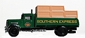 Imex Model American Trucks 870013 HO - 1952 Peterbilt Flatbed w/Load - Southern Express