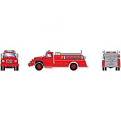 Athearn RTR 4637 - HO Ford F-850 - Fire Truck - Red