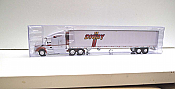 Trucks n Stuff TNS118 - HO Peterbilt 579 Sleeper-Cab Tractor - 53ft Reefer Trailer - Digby