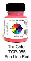 Tru Color Paint 055 - Acrylic - SOO Red 1oz