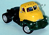 Sylvan Scale Models V001 HO Scale - 1948-53 COE Tractor - Unpainted and Resin Cast Kit