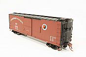 Rapido 130017-4 HO - 40ft NP 10000-series boxcar: Northern Pacific 1945 Small Monad Scheme #13415