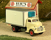 Sylvan Scale Models 312 HO Scale - 1948-53 Chevy COE Reefer Truck - Unpainted and Resin Cast Kit