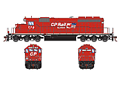 Athearn RTR 72111 HO Scale - SD40-2 - w/DCC & Sound - Canadian Pacific #778