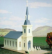 International Hobby Corp - 4941 HO Community Church  - Kit
