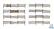 Woodland Scenics 3001 - O scale Log Fence - Kit