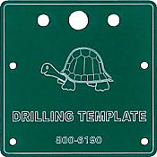 Circuitron 6190 All Scale Tortoise Drilling Template