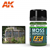 AK Interactive 676 Moss Deposit Enamel Paint 35ml