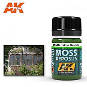 AK Interactive 676 Moss Deposit Enamel Paint 35ml
