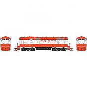 Athearn Genesis G82247 - HO GP7 - DCC Ready - Frisco (SLSF) #537
