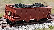 CM 3103 HO - Coal Load for Bowser/Stewart Fishbelly Hopper - 2 pcs