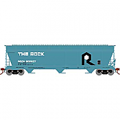 Athearn Genesis G15823 - HO ACF 4600 3-Bay Centerflow Hopper - The Rock #800207