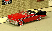 Sylvan Scale Models 301 HO Scale - 1956 Bel Air Convertible - Unpainted and Resin Cast Kit