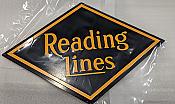 Stoddarts Ltd. RL - 3D Railroad Wall Artwork - Reading Lines Logo