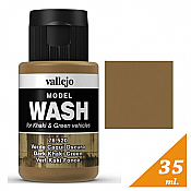 Vallejo 76.520 Model Wash for Dark Khaki Green Vehicles
