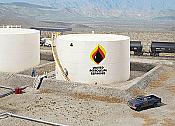 Walther's Cornerstone Wide Oil Storage Tank w/Berm