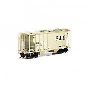 Athearn 63767 RTR HO - PS-2 2600 Covered Hopper - CSX #225538