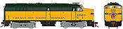 Rapido 21558 HO - DC/DCC/Sound - Alco FA-2 Chicago and North Western #4104-A - Pre-order
