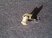 Miniatures By Eric B12 HO Scale parts - Brass Alco Diesel Bell Side Mount