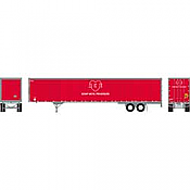 Athearn RTR 72798 - HO 53ft Wabash Plate Trailer - ACE #7720