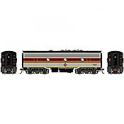 Athearn Genesis 19556 - HO F7B EMD - DCC & Sound - Erie Lackawanna/Freight #7122