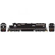 Athearn 70507 HO SD70 IC Yellow Stripe DCC Ready #1002