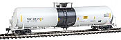 WalthersProto 100721 HO Scale 55 Trinity Modified 30,145-Gallon Tank Car - Ready to Run Trinity Industries Leasing #351174 (white, Black Band & Lettering; Conspicuity) 920-100721