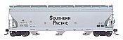 Intermountain 47003-21 HO RTR- ACF 4650 3-Bay Hopper - Southern Pacific #496655