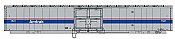 Walthers Mainline 31101 HO Scale - RTR 60Ft Thrall Material Handling Car - MHC-2 - Amtrak (Phase IV) #1541