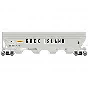 Athearn Roundhouse 7242 HO - ACF 5250 CF Hopper - Rock Island #13987
