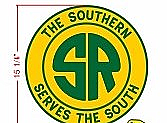 Stoddarts Ltd. Southern - 3D Railroad Wall Artwork - Southern Logo