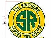 Stoddarts Ltd. Southern - 3D Railroad Wall Artwork - Southern Logo