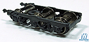 Rapido Bits 102064 N Scale Passenger Car Trucks 6 Axle for Heavy Weight Cars  1 Pair