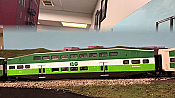 Athearn RTR 25427 N Scale - Bombardier Coach - GO Transit #2407
