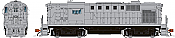 Rapido 31550 HO Alco RS-11 Locomotive - Undecorated (SP version)  DCC & Sound- Taking Orders Now