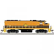 Atlas Model Railroad 40004895 N Scale - GP40-2w Gold DCC/ Sound - Huron Central #3013