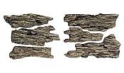 Woodland Scenics 1136 All Scale - Shelf Rocks - Ready Rocks - 6 Pieces
