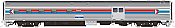 Rapido 114024 HO Scale - Budd Baggage-Dorm - Amtrak - Phase 1 #1532