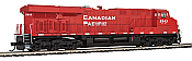 Walthers Mainline 20191 - HO GE ES44 - DCC/Sound - Canadian Pacific #9377