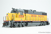 Athearn HO G65464 EMD GP38-2 Phase II w/DCC & Sound, Union Pacific UP #2304