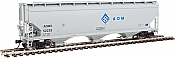 Walthers Mainline - 7603 HO 60 ft NSC 5150 3-bay Covered Hopper - ADM #52254
