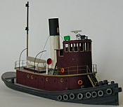 Sylvan Scale Models 1027 - HO Scale - Railroad Tug Boat Kit - Unpainted and Resin Cast