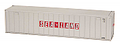 Intermountain A Line 30305-05 HO 40 FT Rib-Side Container 2 Pack - Sea-Land -Early